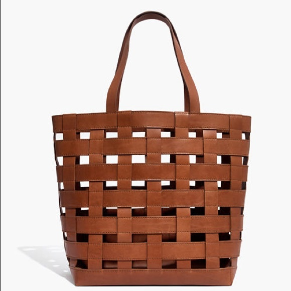 Madewell Handbags - ISO MADEWELL BASKETWEAVE TRANSPORT TOTE NOT 4 SALE